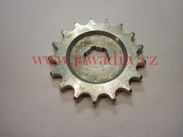 Řetězové kolečko - 17 zubů - ETZ 150, ČZ