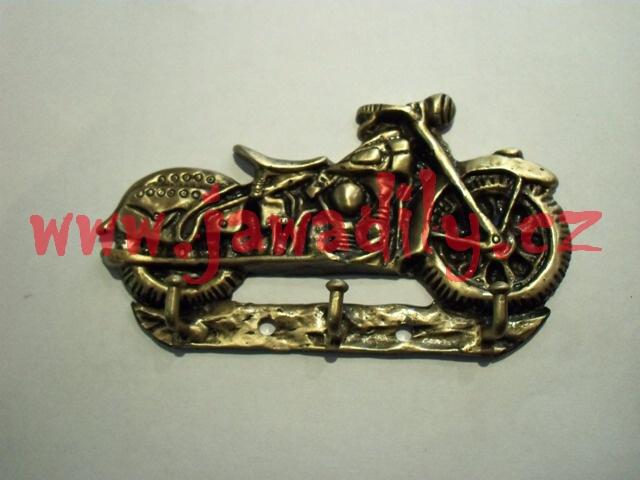 Věšák na klíče - motocykl