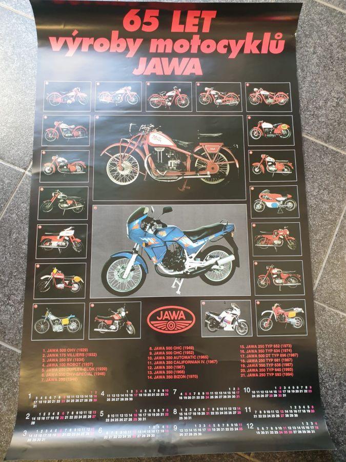 Plakát - Jawa 65 let ( Jawa )
