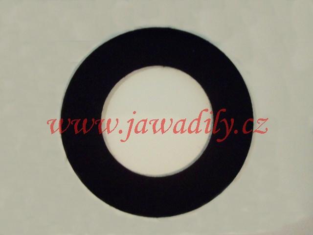 Filc pod víčko nádrže - kulatý (černý)