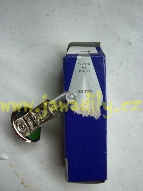 Halogenová žárovka H1 - 12V/55W