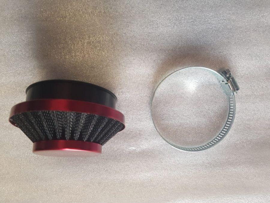 Filtr sání Sport malý D60 přímý (UNI, BABETA) červený