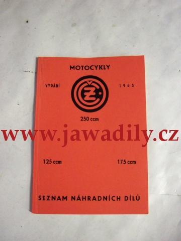 Katalog náhradních dílů - ČZ 175/450, 125/453, 250/455