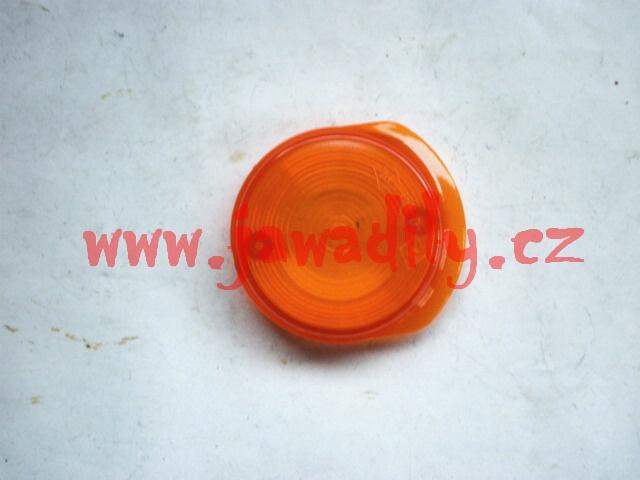 Kryt blikače přední - oranžový - Simson S 51