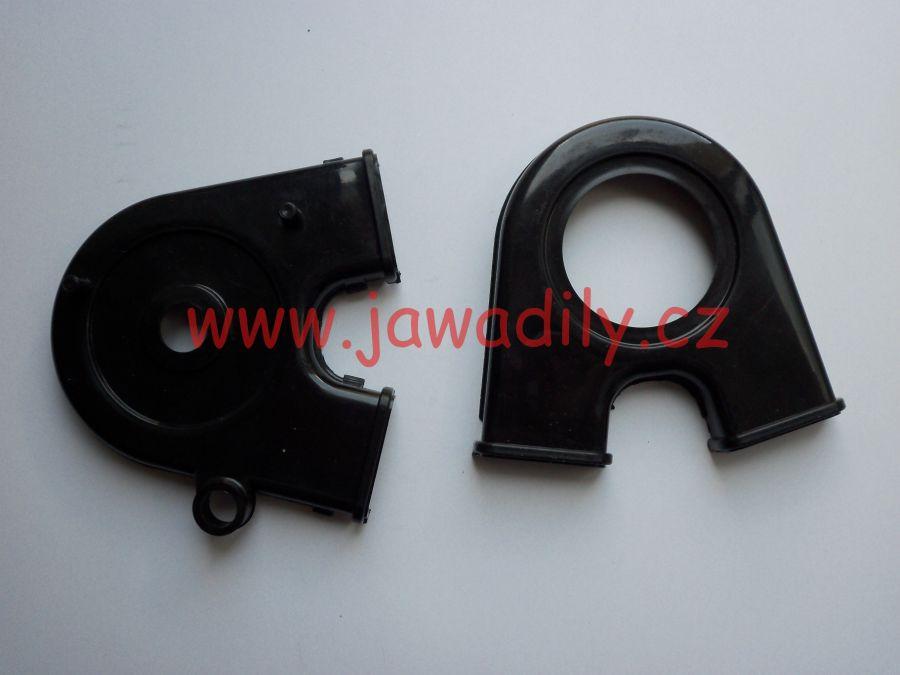 Kryt řetězového kola motoru - Jawa 350/634-640