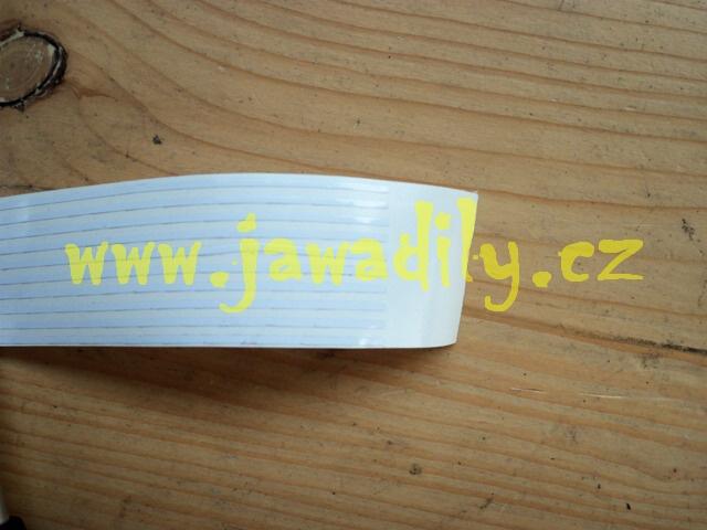 Linka bílá 1,5mm - Jawa, ČZ