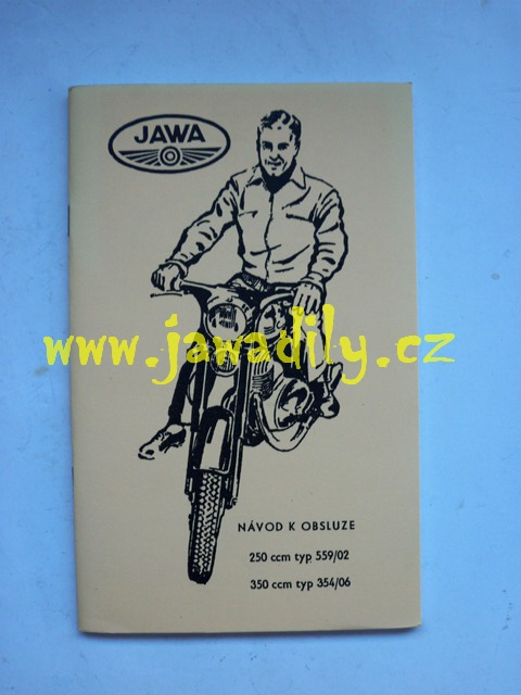 Návod k obsluze - Jawa 250,350 Panelka