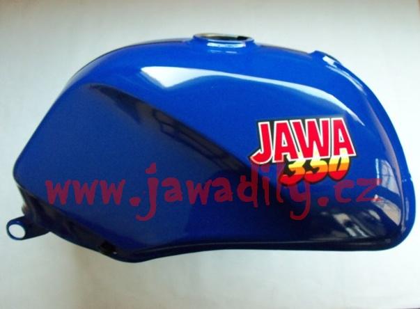 Palivová nádrž - Jawa 350/640