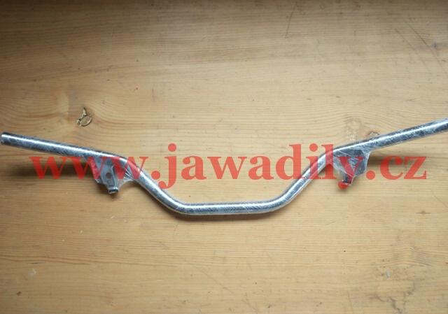 Řídítka bez hrazdy - Chrom - Jawa 350/634-638