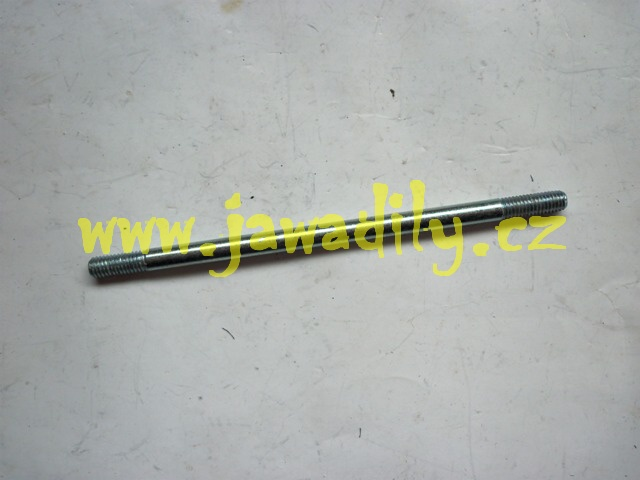 Svorník válce M6x132mm, s maticí - Simson