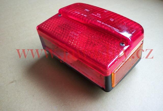 Zadní světlo kompletní - Jawa 350/638-640 a ČZ 125/488