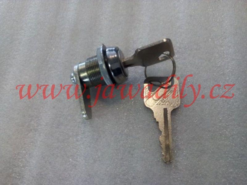 Zámek schránky 2x klíč - Simson