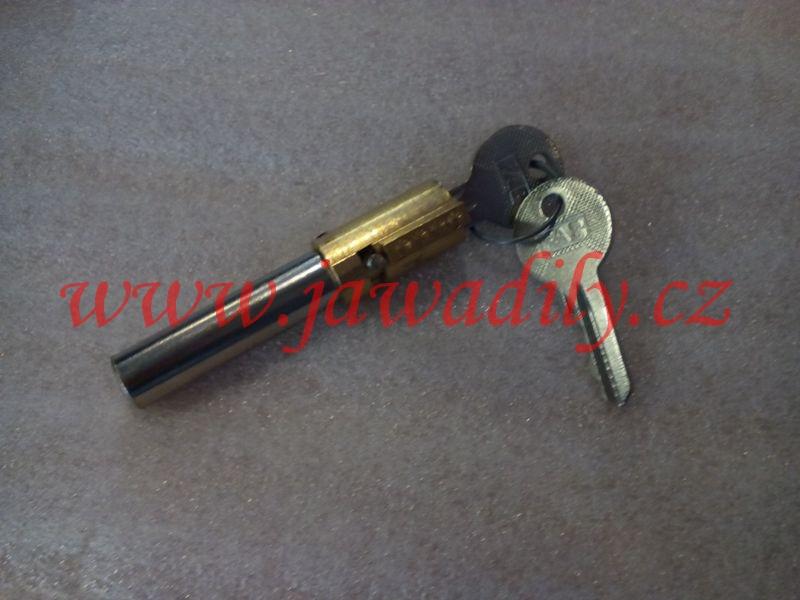 Zámek sedla 2x klíč - Jawa 350/634-639