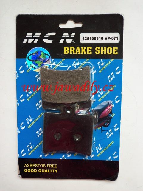 Brzdové destičky - MCN - 071 -