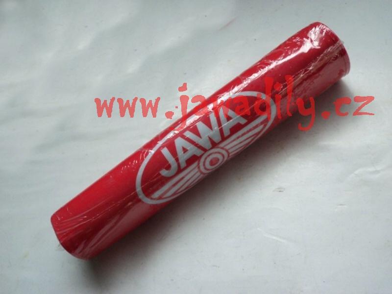 Chránič hrazdy řídítek (červená) - Jawa