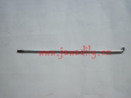 Drát (paprsek) výpletu kola M3,5 x 180mm - chrom - ČZ 125, 150/ B,T,C