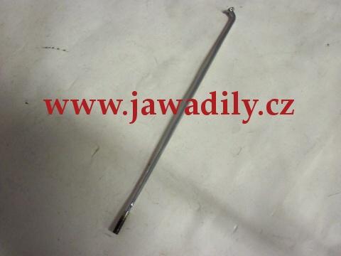 Drát (paprsek) výpletu kola M4 x 182mm - chrom - Jawa 350/638 - 640