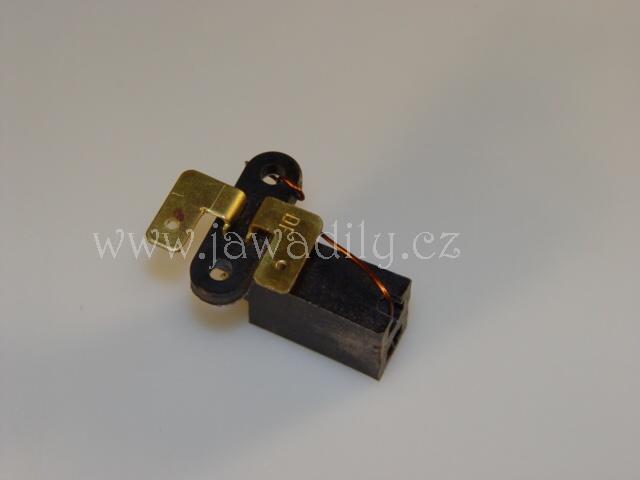 Držák s uhlíky alternátoru (komplet) - Jawa 350/638-640