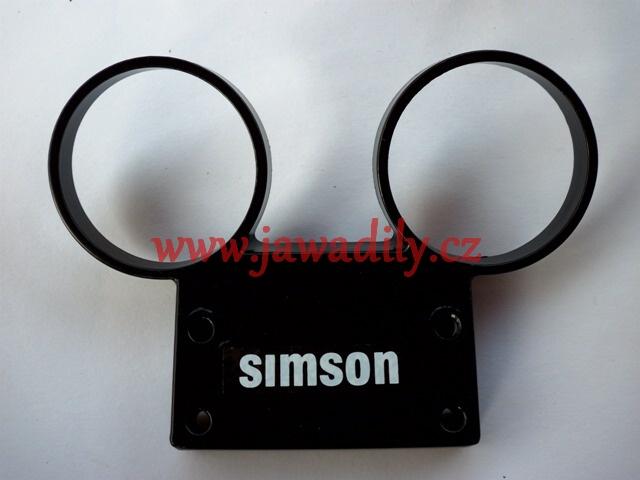 Držák tachometru + otáčkoměru - Simson