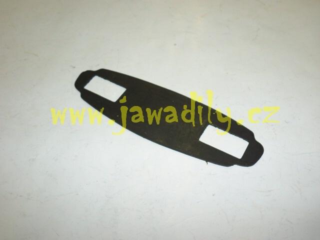 Guma pod Logo JAWA na nádrž - Calif. - 1