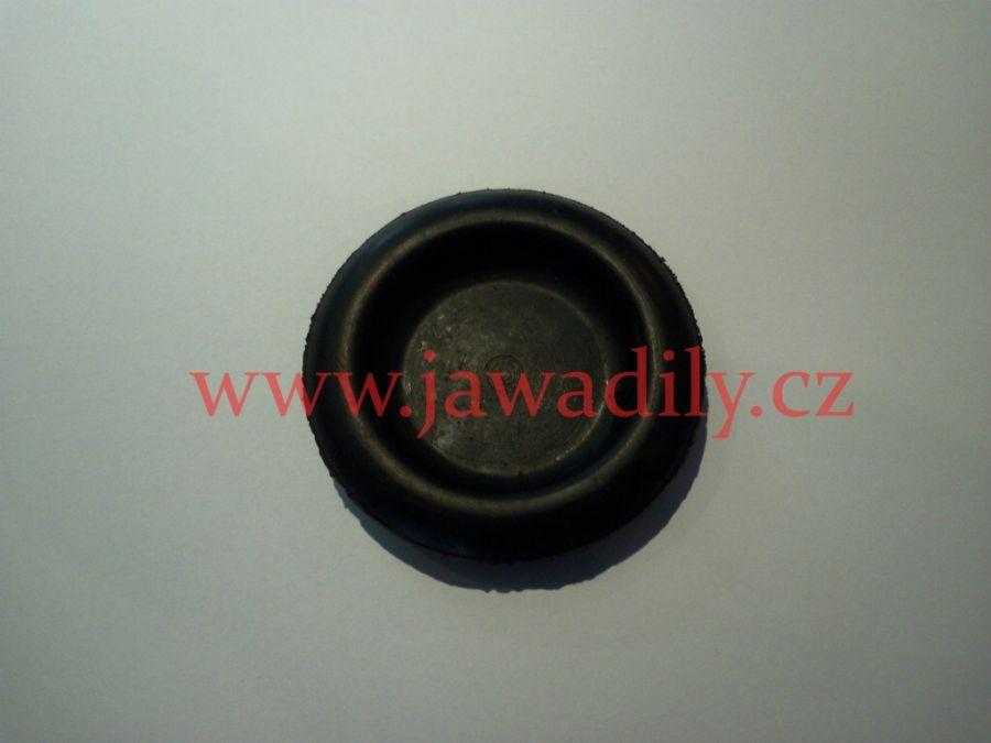 Guma odrazky zadního blatníku (černá) - Jawa, ČZ