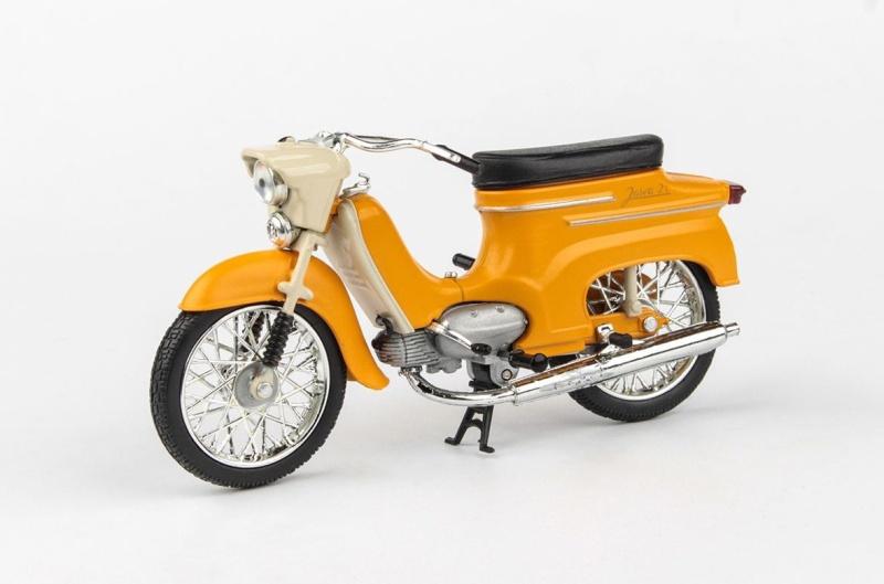 Jawa 50 Pionýr typ 21 (1967) 1:18 - žlutohnědá