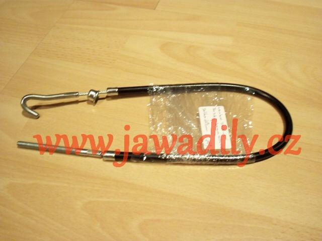Lanko zadní brzdy, Hák - Jawa 350/634-640 - 40cm