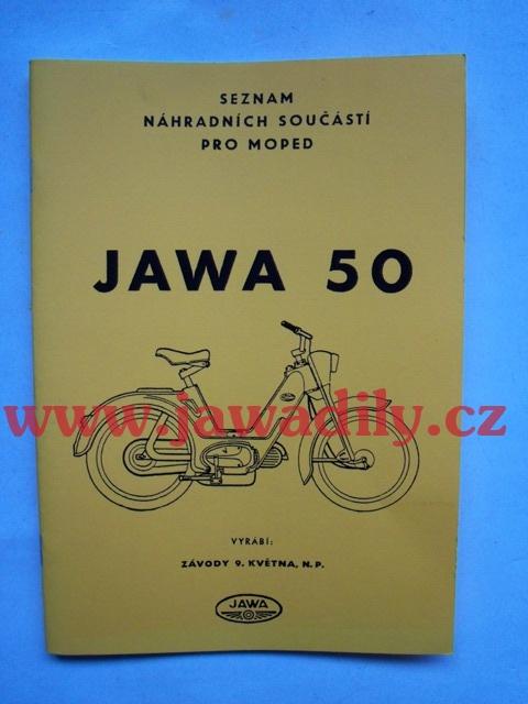 Katalog náhradních dílů - Jawetta 551