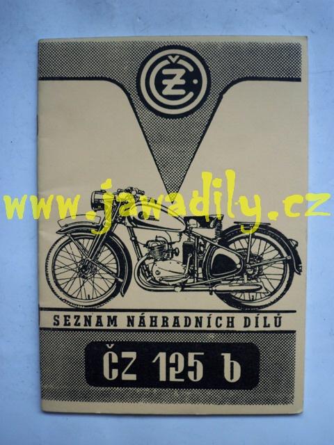 Katalog náhradních dílů - ČZ 125 B