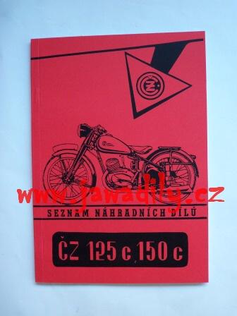 Katalog náhradních dílů - ČZ 125C a 150C