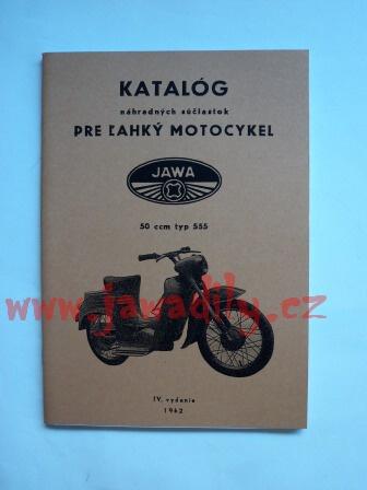 Katalog náhradních dílů - Pionýr typ 555