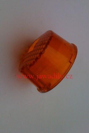 Krytka blinkru - Jawa 350, ČZ 125, 175, 250, 350, (kulatá)