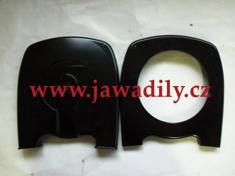 Kryt zadní rozety černý - Jawa 350/634-640 (originál)