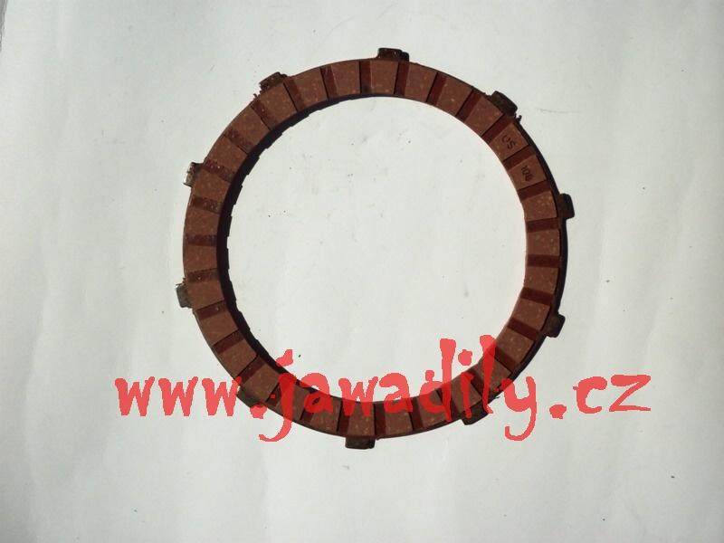 Spojková lamela (ferodo) - Jawa 350/638-640
