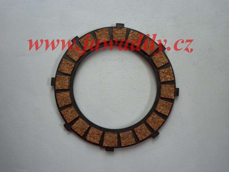 Spojková lamela (korek) - Jawa 500 OHC