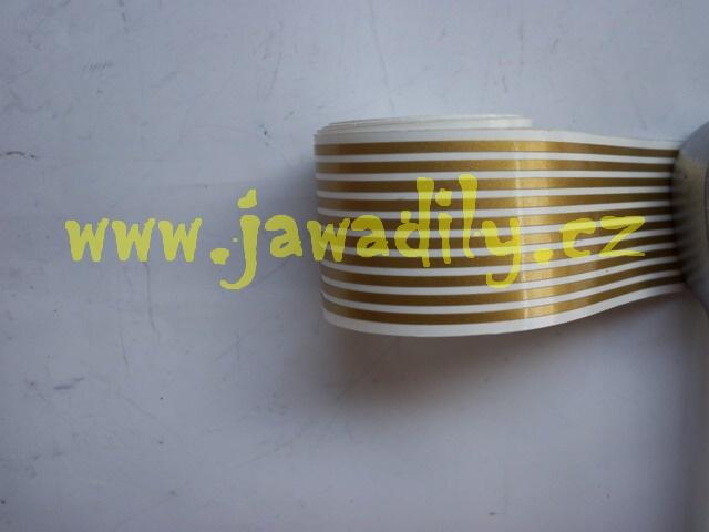 Linka zlatá 1,5mm - Jawa, ČZ