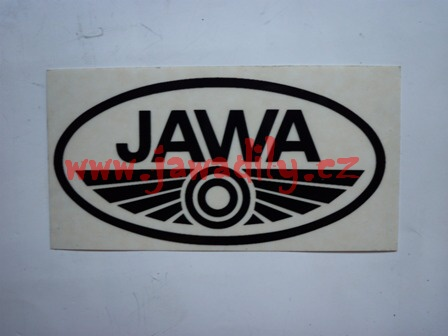 Logo JAWA - černé