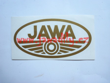 Logo JAWA - zlaté