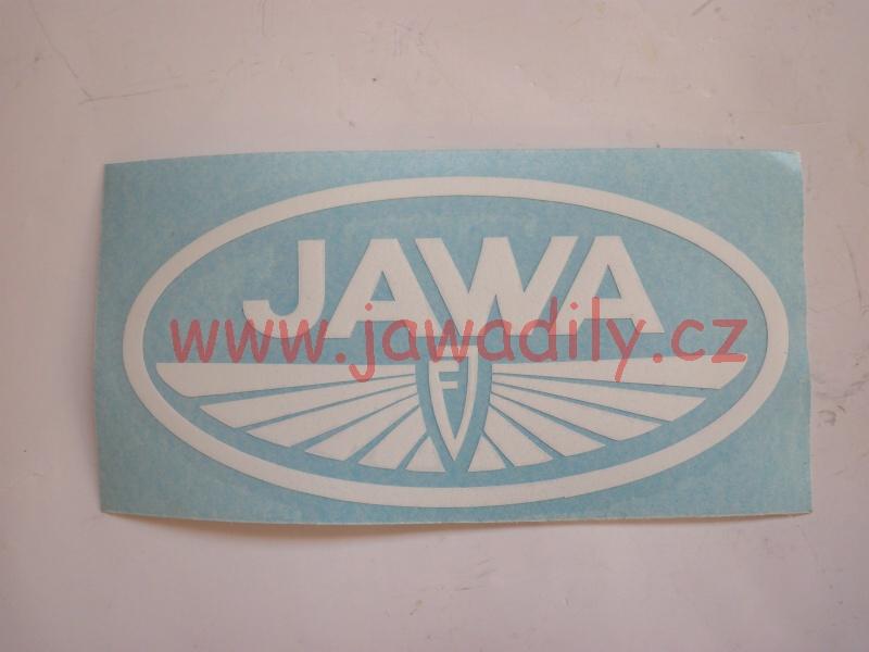 Logo Jawa FJ - bílé