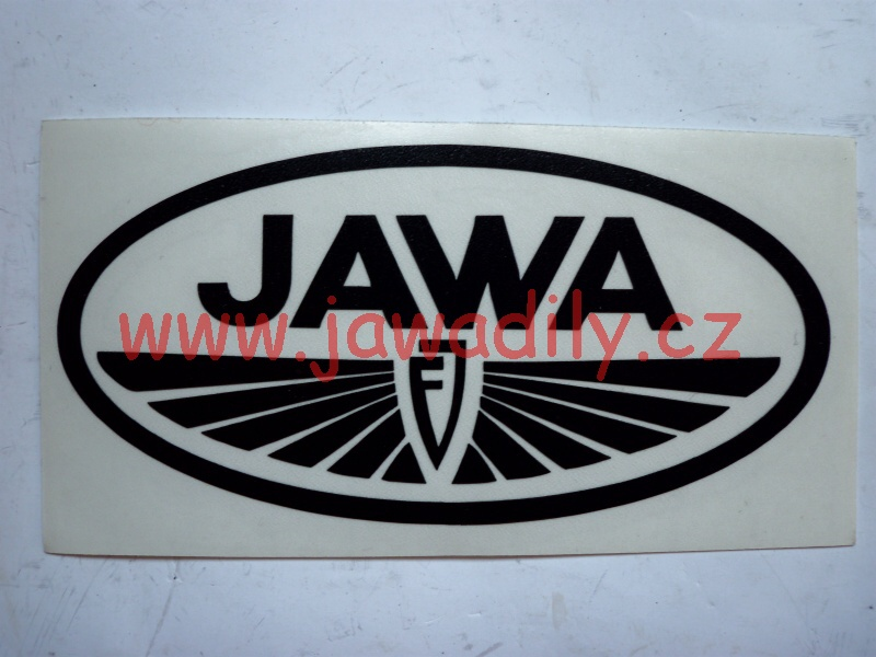 Logo Jawa FJ - černé