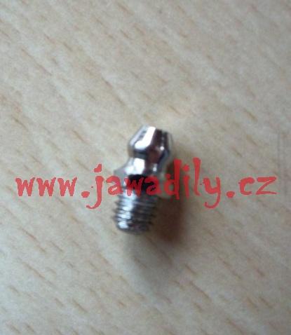 Maznička M6x1 - rovná