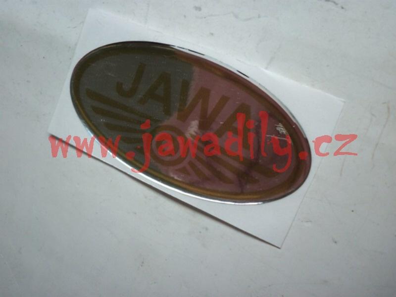 Logo JAWA - 3D stříbrno-zlaté