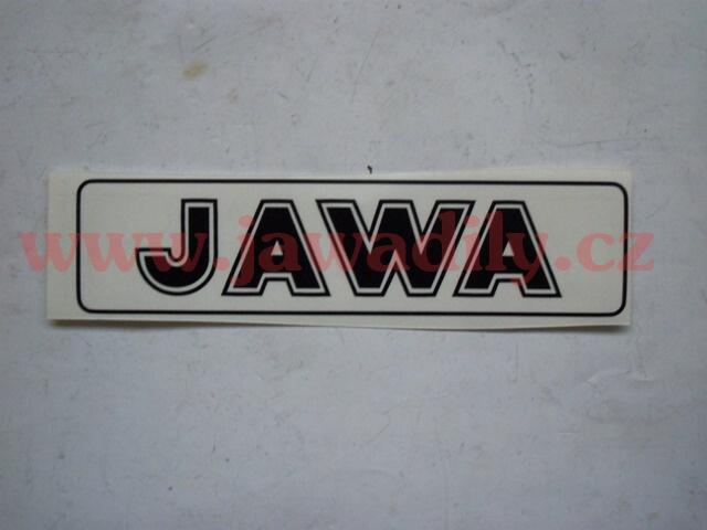 Nápis JAWA - černá