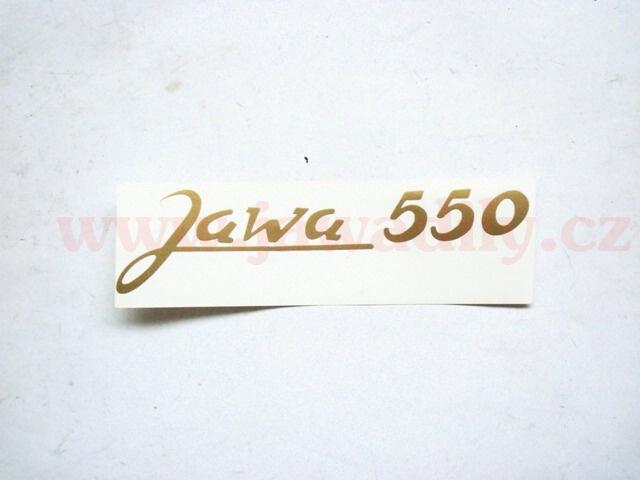 Nálepka - Jawa 550