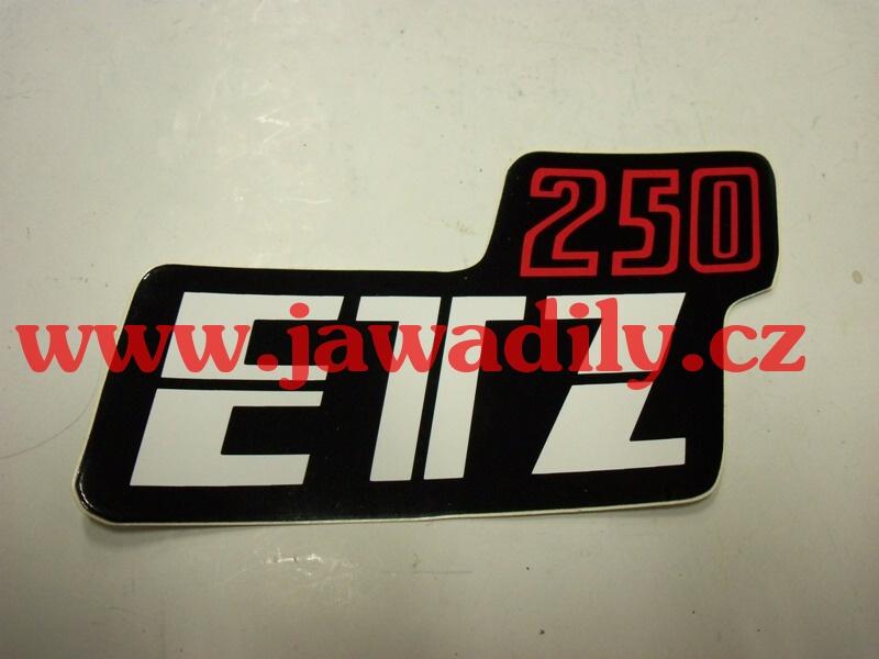 Samolepka na boční schránku - MZ 250 ETZ