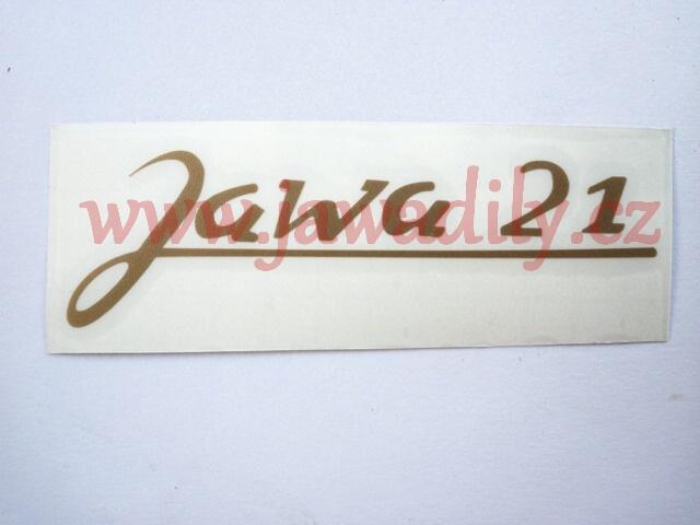 Nálepka - Jawa 21