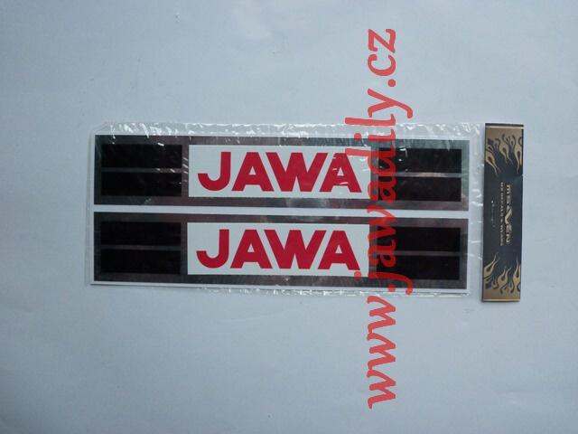 Nálepka na nádrž JAWA - Babetta 207 (sada)