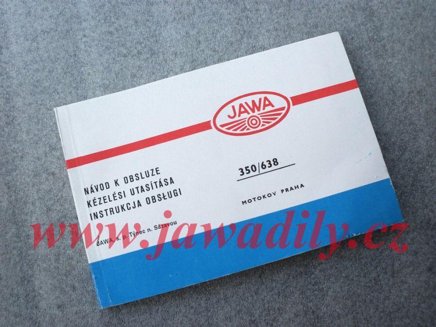 Návod k obsluze - Jawa 350/638