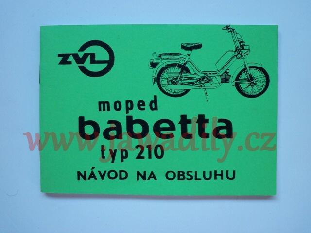 Návod na obsluhu - Babetta 210