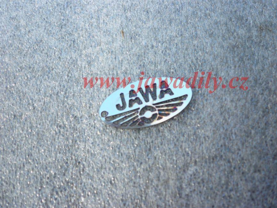 Přívěšek nerez malý - Jawa